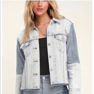 Levi's Ex-Boyfriend Trucker Denim Jacket Small